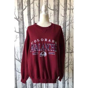 //VINTAGE// Cozy Colorado Avalanche Sweatshirt